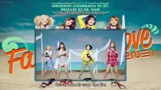 [日本語字幕 & 歌詞 & カナルビ] 2NE1 - Falling In Love