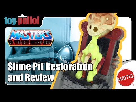 Fix it guide - MOTU Slime Pit restoration and review.