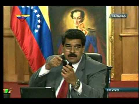 Maduro se refirió al periodista de CNN Fernando del Rincón en Miraflores