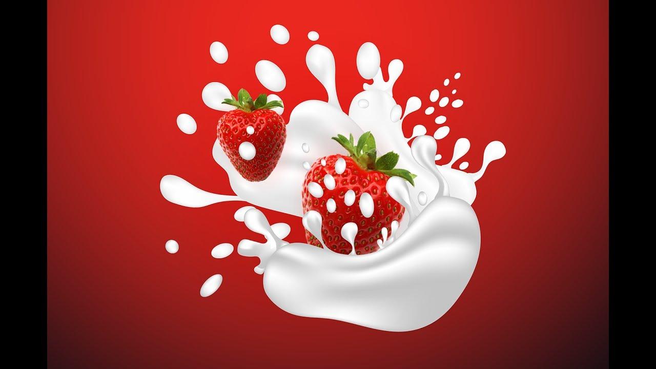 How to create Milk and water splash in adobe illustrator ...
