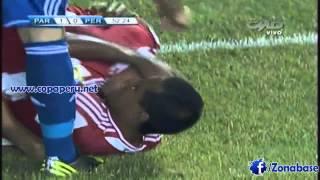 Gol de Pablo Aguilar ~ Paraguay 1-0 Perú [16/10/12]