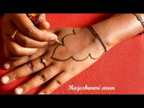easy latest jewellery henna mehndi designs for back hands for eid 2018 * Simple Beautiful Mehndi Art