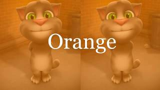 Learn colors with my talking tom- Colours for Kids Education Cartoon 2