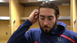 Mika Zibanejad Hopes To Build on Two-Goal Game