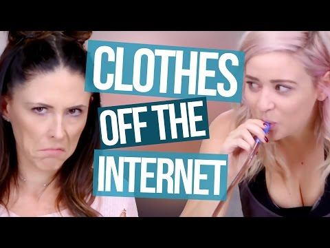 Random Clothes We Bought Online?! (Beauty Break)