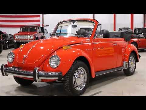 1978 VW beetle orange