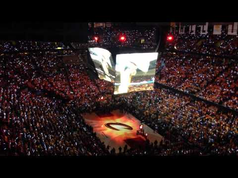 Cleveland Cavaliers Player Introduction Game 4 Vs. Atlanta ...