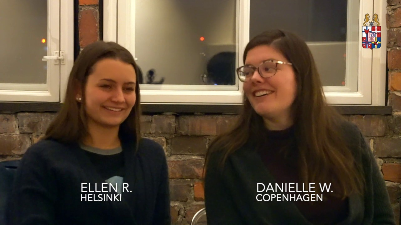 Study Abroad in Scandinavia: Ellen and Dani tell us about their time on the Viking Program