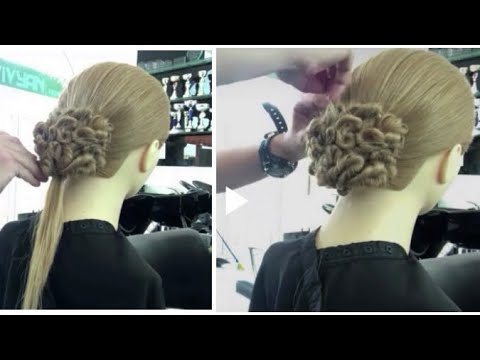 Amazing hairstyles || latest hairstyle || party hairstyle || prom Updo hairstyles|| hair style girl