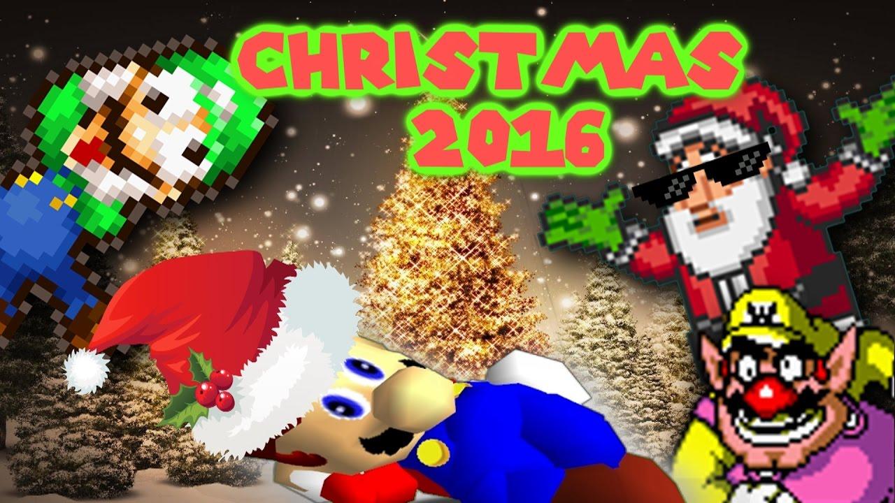 Super Mario Christmas 2016: Naughty or Nice - YouTube