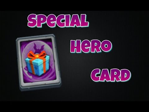 Castle Clash Special Hero Card!