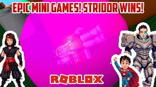Roblox: STRIDOR WINS BEI EPIC MINIGAMES