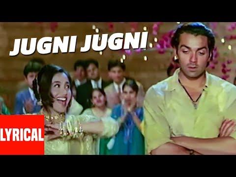 """Jugni Jugni"" Lyrical Video | Badal | Anu Malik | Bobby Deol, Rani Mukherjee"
