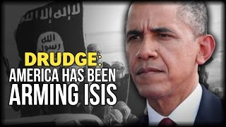 """DRUDGE: """"AMERICA HAS BEEN ARMING ISIS…"""""""