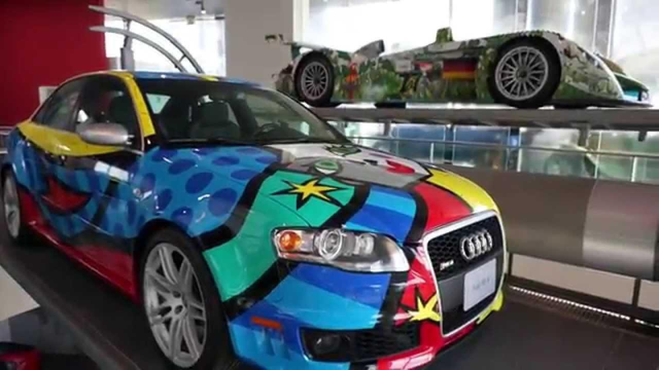 Audi Museum Ingolstadt Muzeum Audi Youtube