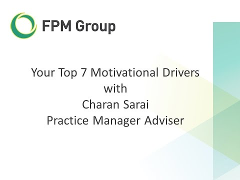 Your Top 7 Motivational Drivers