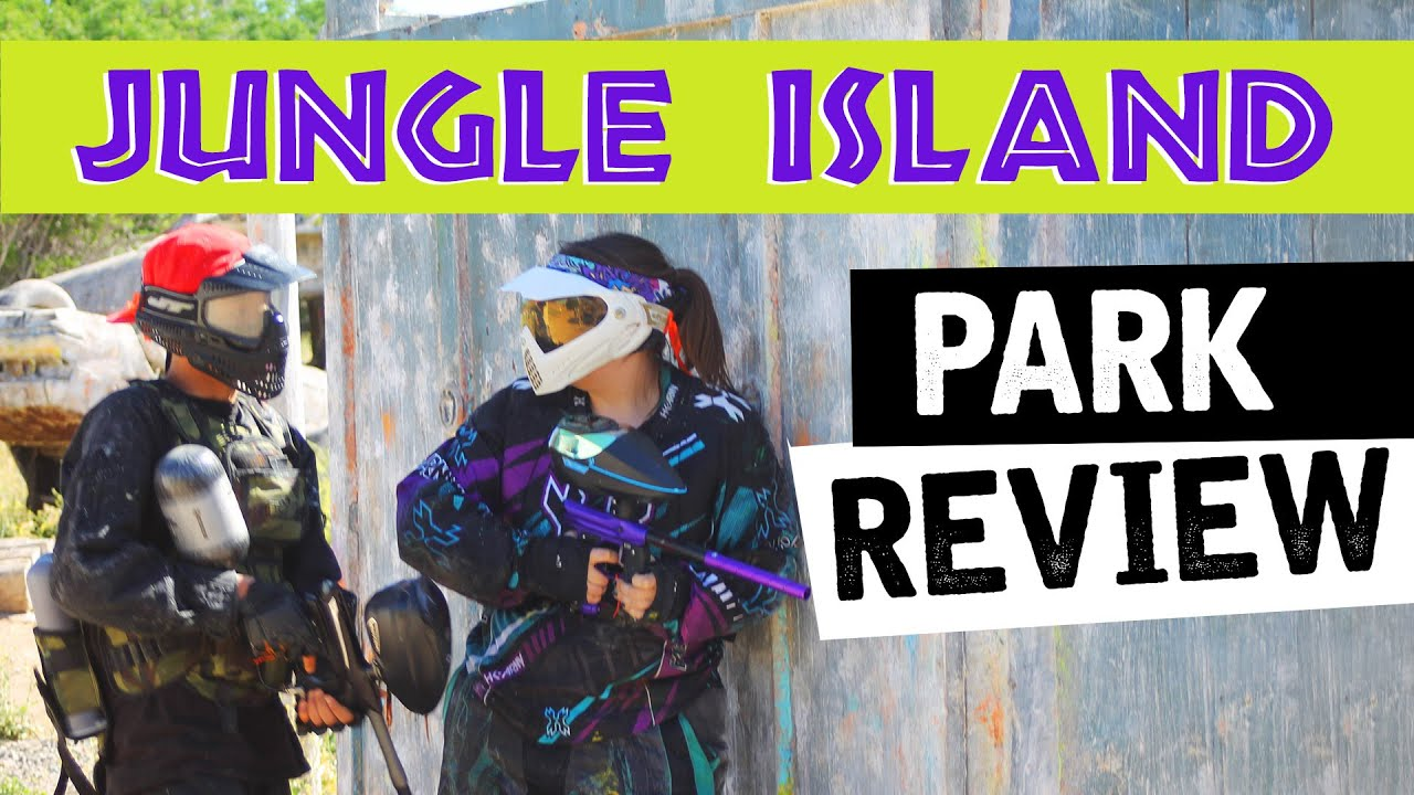 REVIEW of JUNGLE ISLAND Paintball Park in Lake Elsinore CA - YouTube