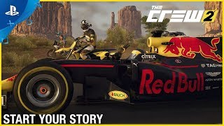The Crew 2 - E3 2018 Start Your Story: Open Beta Trailer | PS4