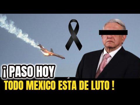 🔴¡ HACE UNAS HORAS ! SUCEDIO HOY ! Lamentable Noticia , MEXICO De LUTO , Noticias de Ultima Hora !