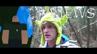 Logan Paul Suicide Forest ROBLOX