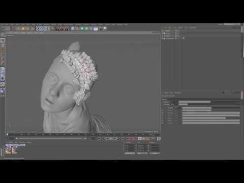 Cinema 4D R17 - Spline Tools Tutorial By Aixsponza
