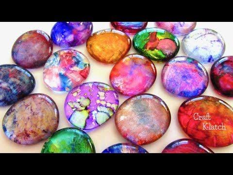DIY Alcohol Ink Pendants | Jewelry Craft Tutorial | Craft Klatch