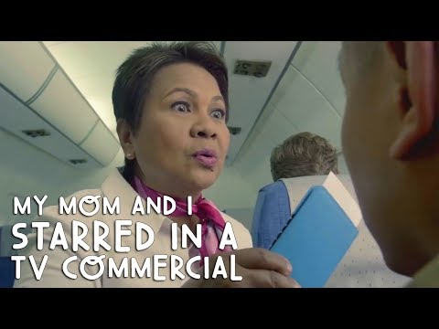 MY MOM & I STARRED IN A TV COMMERCIAL! LOL! | Vlog #200