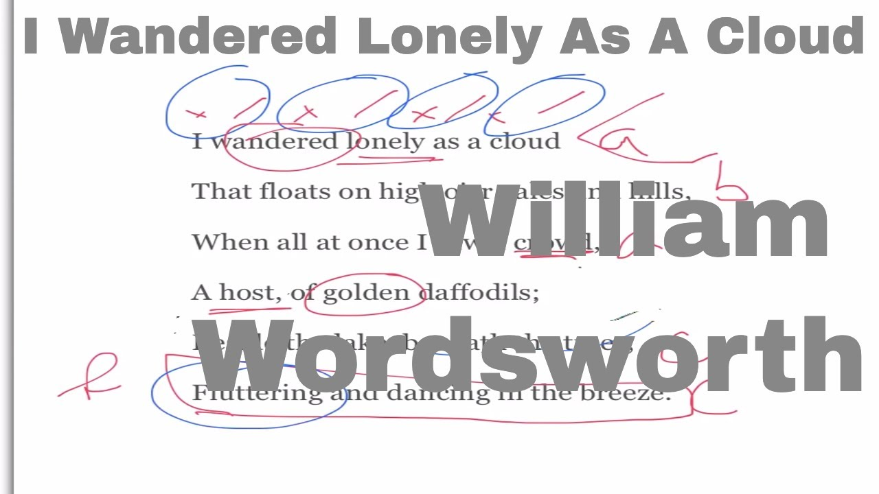 poem analysis daffodils Link: analysis: daffodils is a free verse poem, and the author describes the daffodils he sees near a lake as being beautiful and radiant.