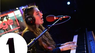 Birdy performs Wild Horses in the Live Lounge