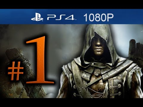 Assassin's Creed 4 Freedom Cry Walkthrough Part 1 [1080p HD PS4] - No Commentary - Black Flag