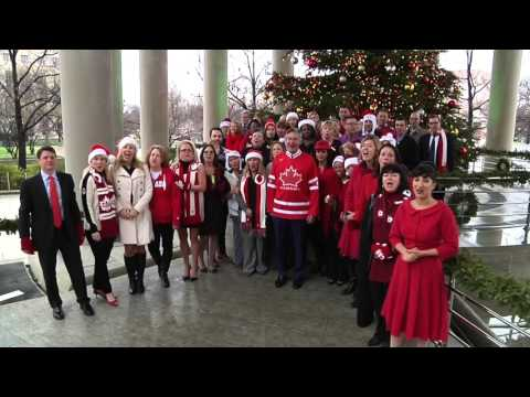 Happy Holidays from the Embassy of Canada in Washington, DC