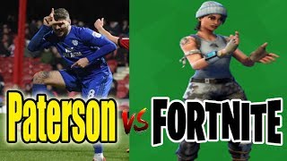 Cardiff City Football Player Callum Paterson Fortnite Emote Célébrations