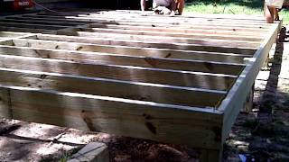 Creative Carpentry Deck