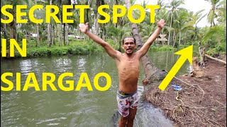 SECRET SPOT IN SIARGAO PHILIPPINES w/ BISAYANG HILAW