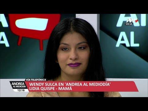ANDREA AL MEDIODIA - WENDY SULCA - 19/06/18 - MARTES 19 DE JUNIO DEL 2018