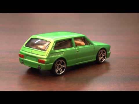 CGR Garage - VOLKSWAGEN BRASILIA Hot Wheels review
