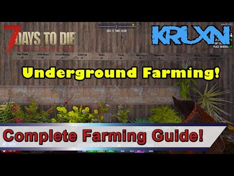 7 Days to Die Complete Farming Guide   How To