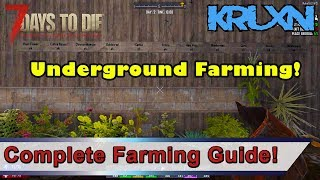 7 Days to Die Complete Farming Guide | How To