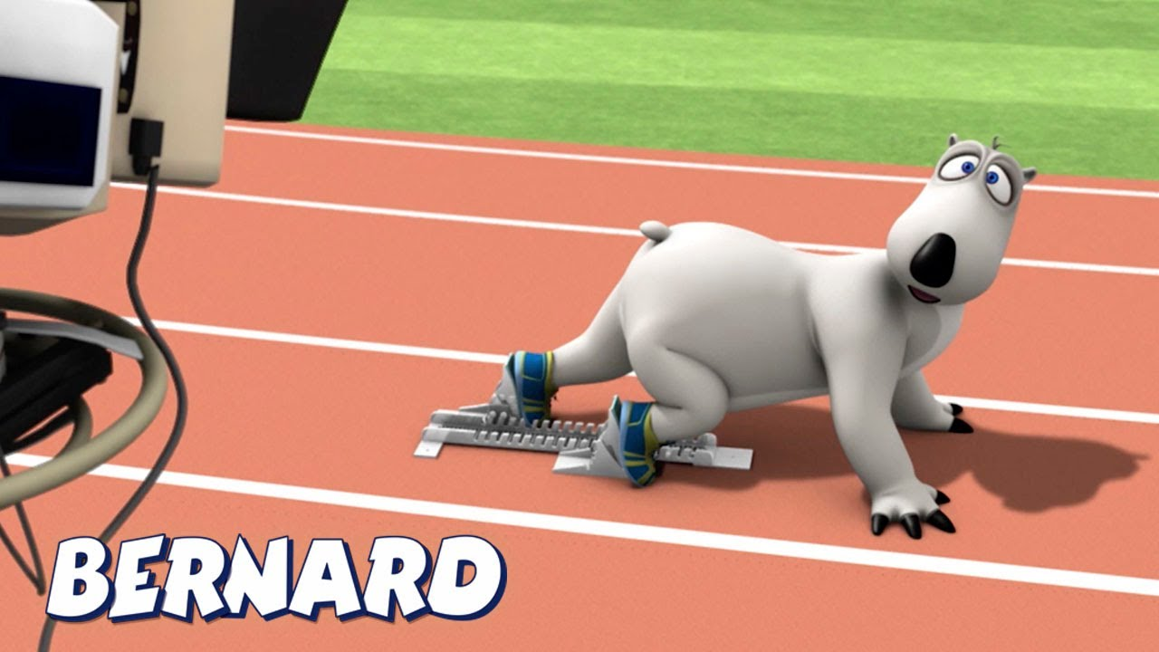 Bernard Bear | Olympic Sprint AND MORE | Cartoons for Children | Full Episodes