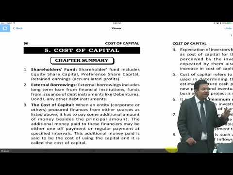 06 Concise Revision Of Cost Of Capital