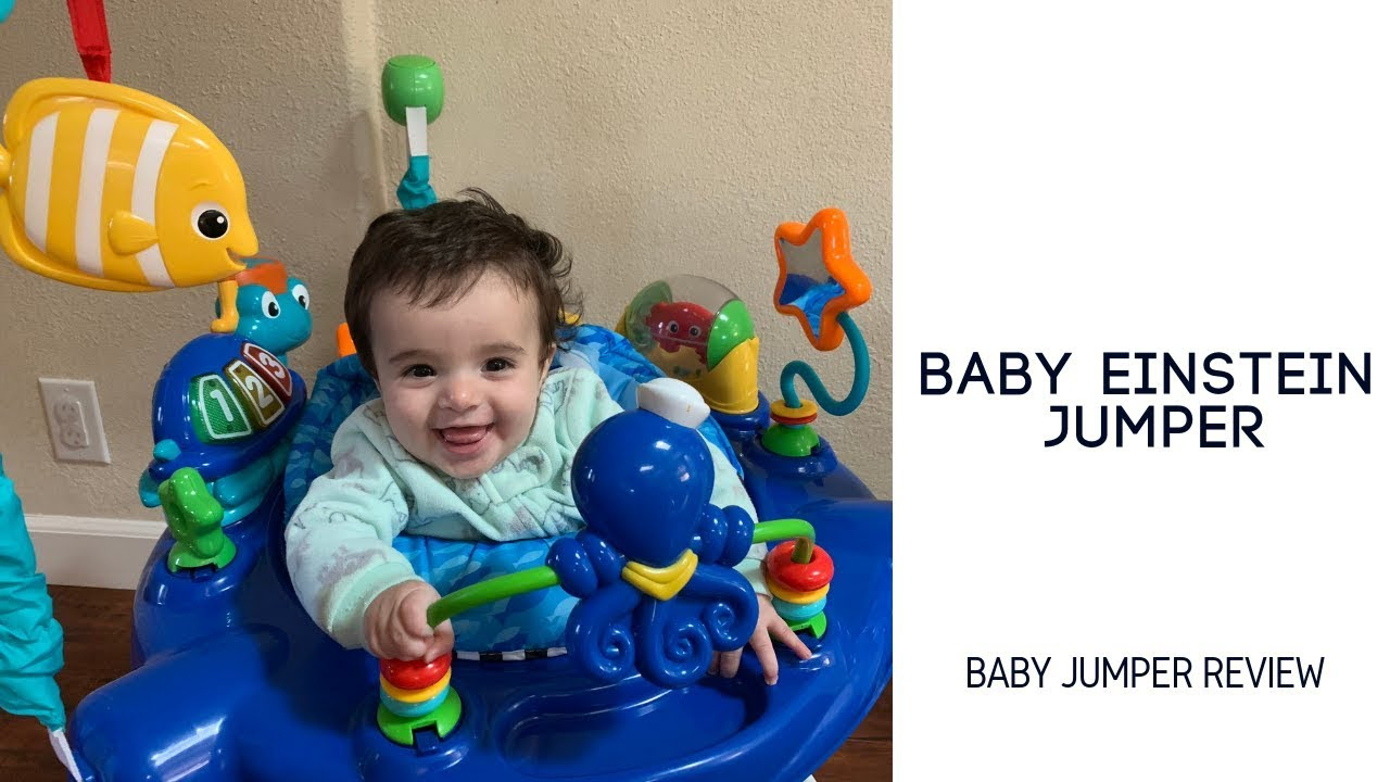 2a6d4caae485 Baby Einstein Neptune s Ocean Discovery Jumper - Baby Product Review ...