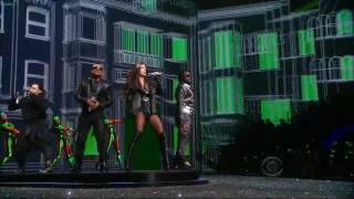 Black Eyed Peas on Victoria's Secret Fashion Show 2009.wmv(Video de The Black Eyes Peas en vivo en alta definicion., 2010-01-05T02:20:36.000Z)