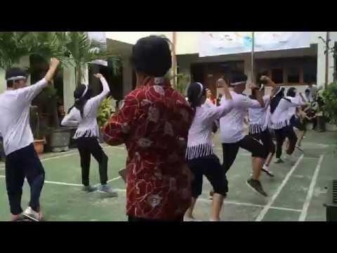 Ujian Praktek Senam Aerobik Sman 6 Bandung