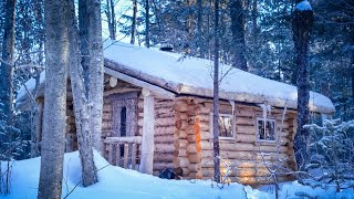 Call of the Wild | Fire, Snow, Remote Wilderness Cabin | Forest Sounds