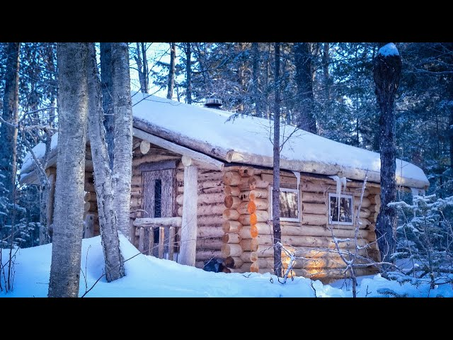 Call of the Wild | Fire, Snow, Remote Wilderness Cabin