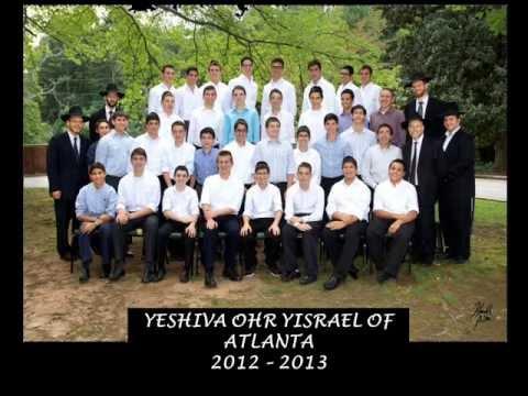 YESHIVA OHR YISRAEL OF ATLANTA 2013 GRADUATION SLIDESHOW