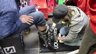 БУТФИТИНГ - термоформовка горнолыжных ботинок.