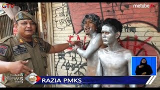 Razia PMKS, Dua Pengamen Jalanan di Tanah Abang Diamankan Satpol PP - BIS 10/09