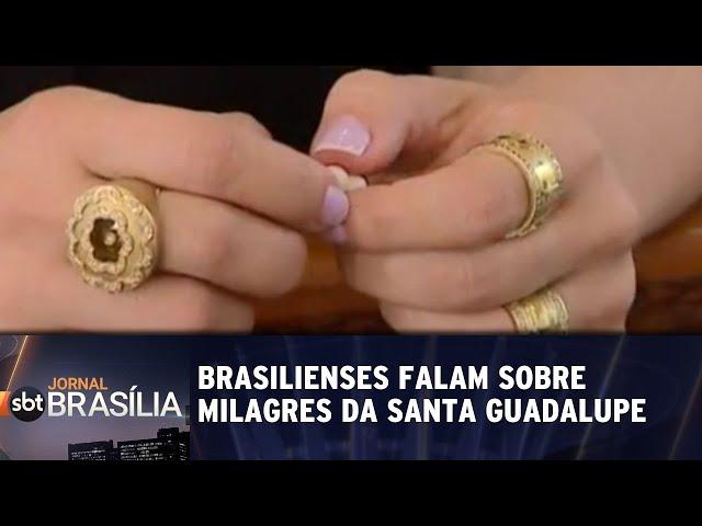 Brasilienses falam sobre milagres da santa Guadalupe | Jornal SBT Brasília 11/03/2019