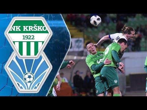 23. krog: Krško - Ankaran 1:1 ; Prva liga Telekom Slovenije 2017/2018